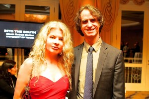 Adrienne Papp and Caucus Best Director and Golden Globes Winner, Jay Roach (
