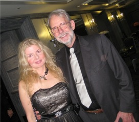 Adrienne Papp with Walter Murch in 2012 at the IPA Satellite Awards. Walter Murch is a multiple award winner for various films.