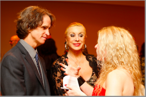 Adrienne Papp and Multiple Time Oscar Winner Director, Jay Roach
