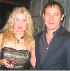 Adrienne Papp and Jason Isaacs