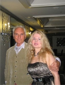 Terence Stamp and Adrienne Papp