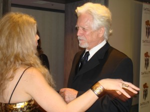 Adrienne Papp of Atlantic Publicity and Bruce Davison at the IPA, 2016
