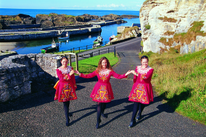 Dancers - Ballintoy Harbour