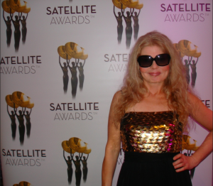 Adrienne Papp, Publicist and Journalist at The International Press Academy Award Ceremony