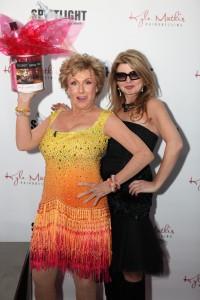 Cloris Leachman and Adrienne Papp