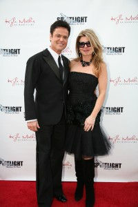 Donny Osmond, Winner of Finale and Adrienne Papp