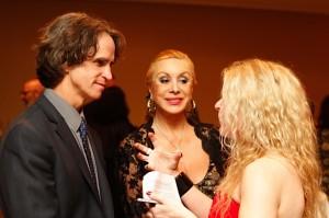 Adrienne Papp Interviewing Jay Roach, Director of  Golden Globes Winner,