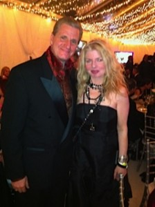 Roger Neal of Oscar Gifting and Adrienne Papp