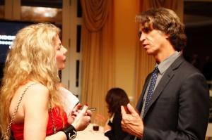 Adrienne Papp and Jay Roach, 2012 December, Caucus Dinner