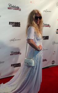 Adrienne Papp, President of Atlantic Publicity, Dress by Jessica Bazan
