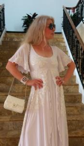 Adrienne Papp of Atlantic Publicity, Dress by Jessica Bazan