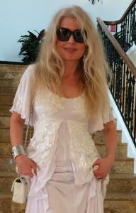 Adrienne Papp of Youthful&Ageless™, Dress by Jessica Bazan