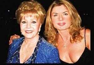 Adrienne Papp and Debbie Reynolds