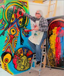 BILGE in his Studio: Endless Revolution